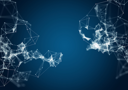 Abstract image of data network